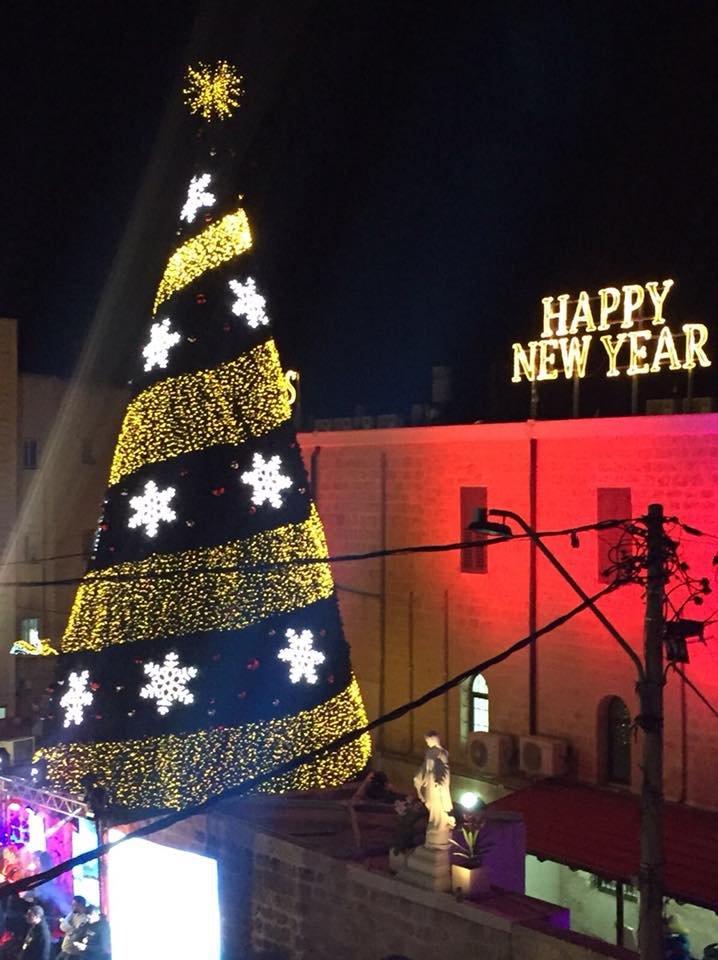 شفاعمرو تتزين بحلة عيد الميلاد المجيد