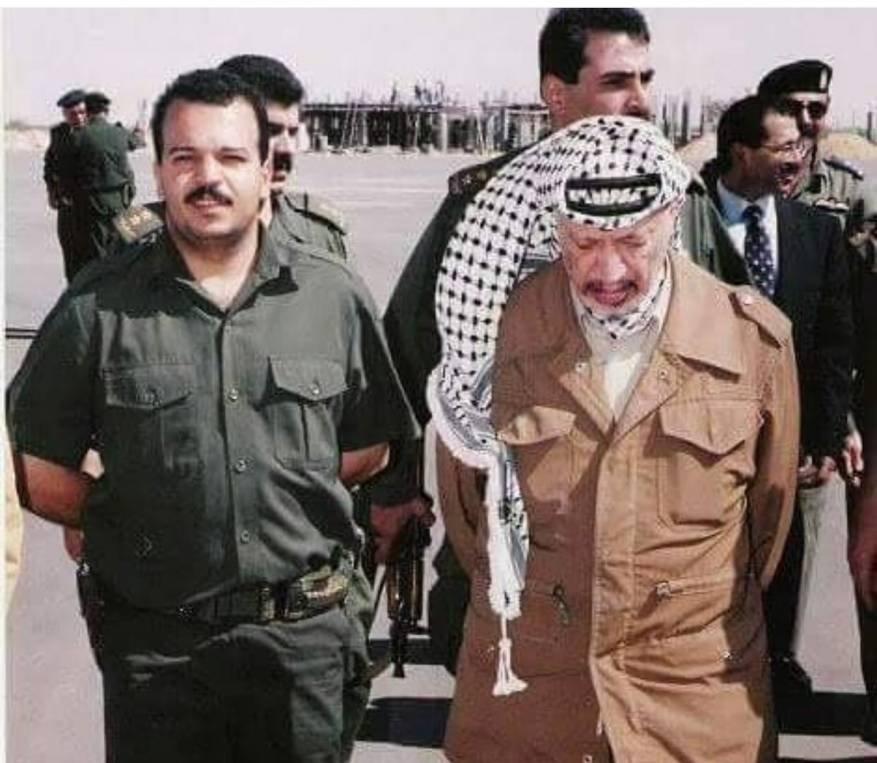 السلطة تشترط على ابن ياسر عرفات الاعتذار لمصور محمود عباس للإفراج عنه