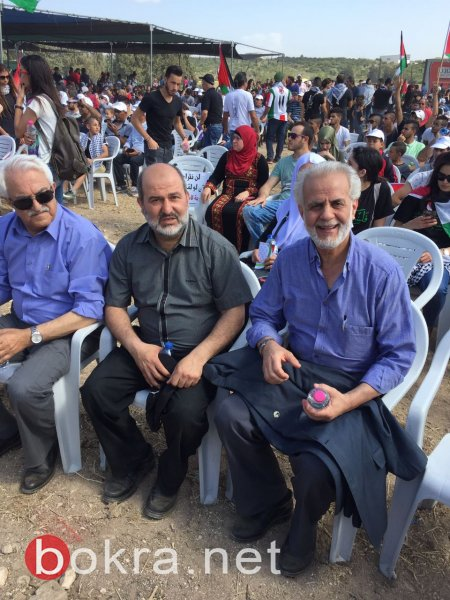 النائب عبد الحكيم حاج يحيى : هذه المسيرة لا تمثل الرمزية فقط وإنما تمثل آمال شعب طرد من ارضه