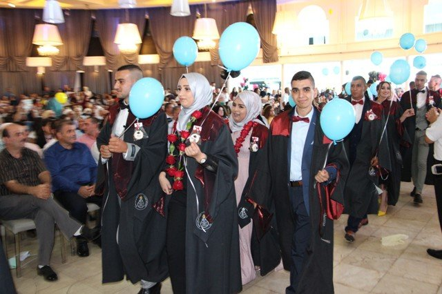 مدرسة عين ماهل الثانوية تخرج الفوج الرابع والأربعين من طلابها