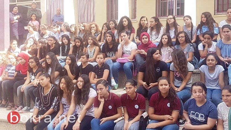 سخنين: اعدادية الحلان تستقبل طلابها باجواء جليلة مليئة بالفرح