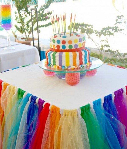 10 أفكار لديكور المنزل بألوان قوس قزح