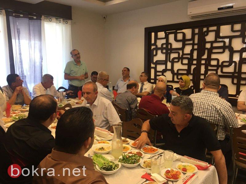 بنك هبوعليم ينظم لقاء مع شخصيات ورجال الاعمال في كفركنا