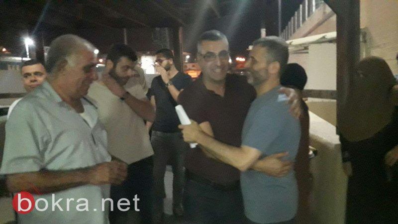 الافراج عن د. سليمان اغبارية وإحالته للحبس المنزلي في حيفا