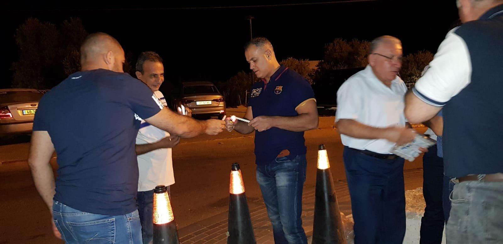 شعب: وقفة اضاءة شموع على شرف الذكرى الـ18 لهبّة أكتوبر