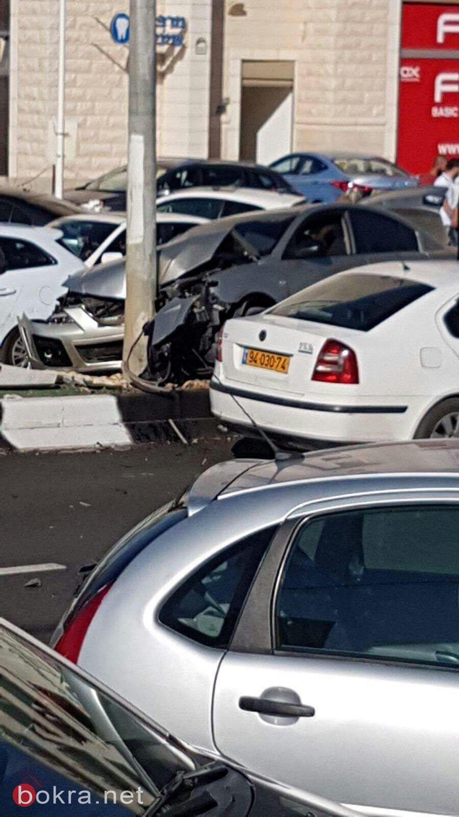 سخنين: اصابة متوسطة لشاب (29 عاما) نتيجة لحادث طرق ذاتي