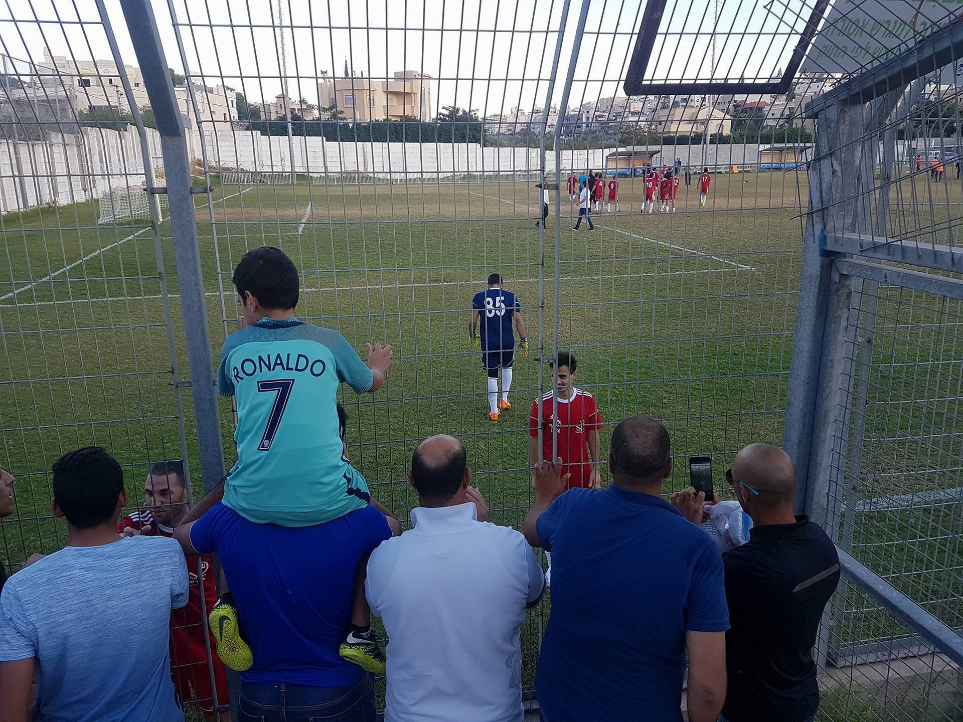 الاخوة عرابة يحقق فوزا ثمينا على فريق مكابي شفاعمرو بالنتيجة 2-1