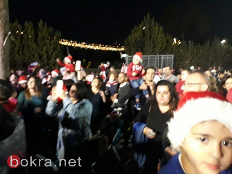 مشاركة واسعة احتفاءً بعيد الميلاد المجيد