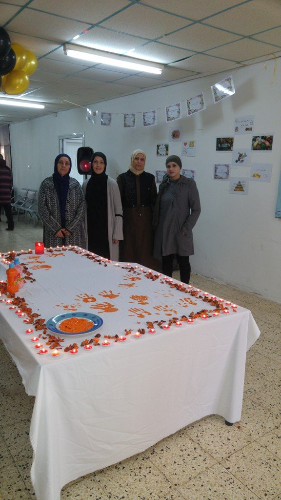 الاحتفال بيوم المعلّم في مدرسة وادي النّسور الإعداديّة - أم الفحم