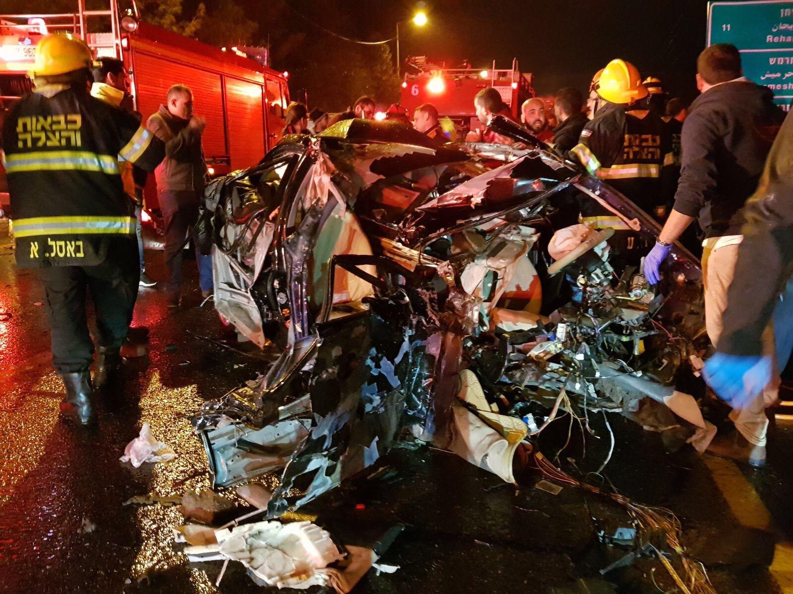برطعة: حادث طرق مروّع، ومصرع شخصيّن