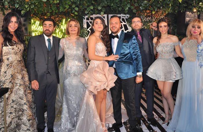 15 صورة من حفل خطوبة نجل ماجد المصري