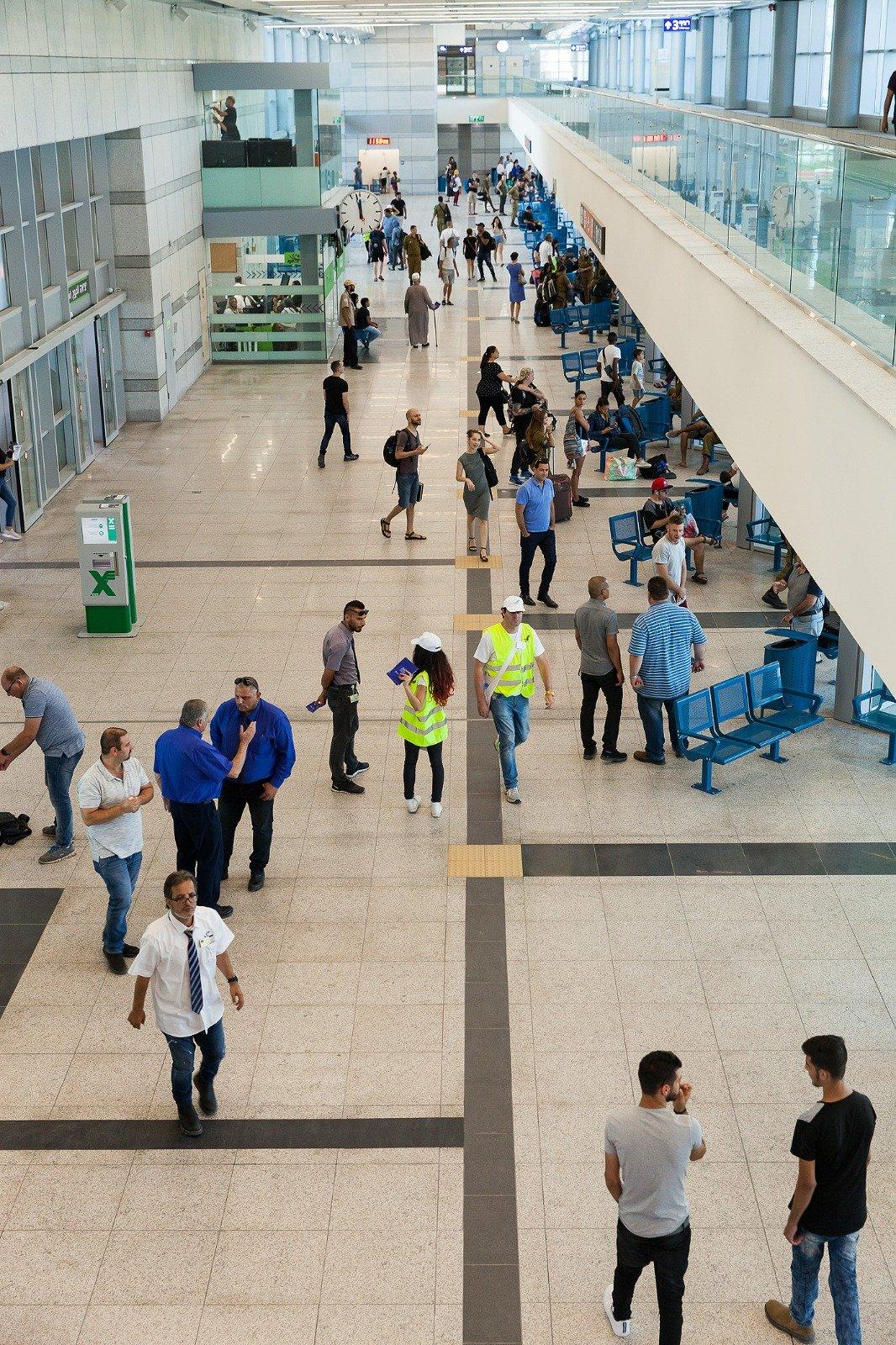 المحطة المكزية المفراتس الجديدة في حيفا تفتح ابوابها للجمهور