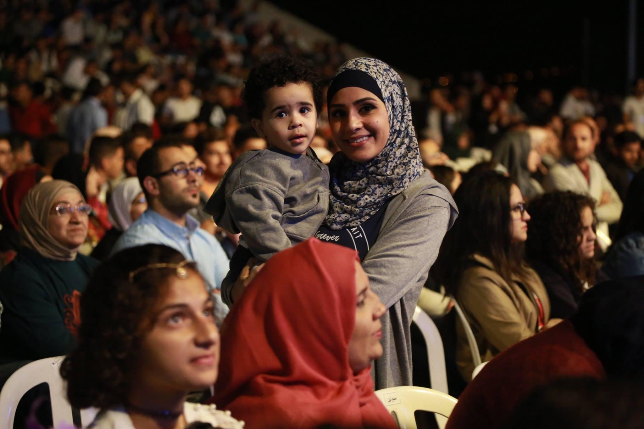 افتتاح مهرجان ليالي بيرزيت 2017