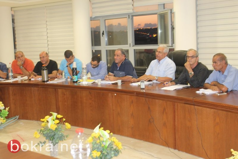 سخنين: بيزك للبيع مشادات كلامية بين الائتلاف والمعارضة في جلسة البلدية