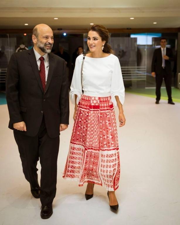 الملكة رانيا تحضر حفل تخريج الفوج الأول للدبلوم المهني