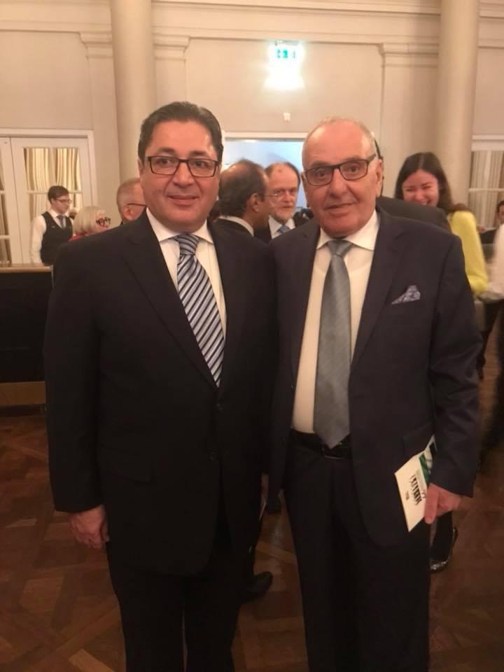 الدبلوماسي مروان الزعبي بعد لقاء بالسفيرة الإمراتية: نحضر لمشاريع مشتركة مع أبو ظبي