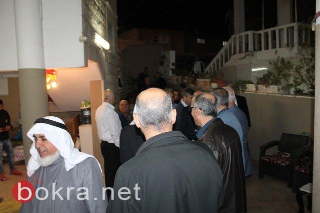 عقد راية الصلح بين ابناء العمومة من عائلة خطيب في كفر كنا