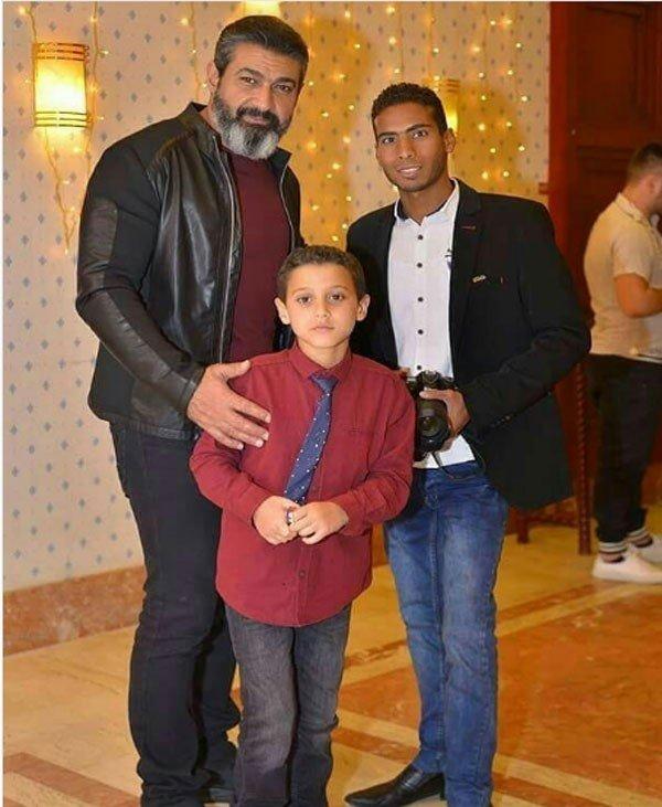أول صورة لياسر جلال مع ابنه.. هل يشبهه؟