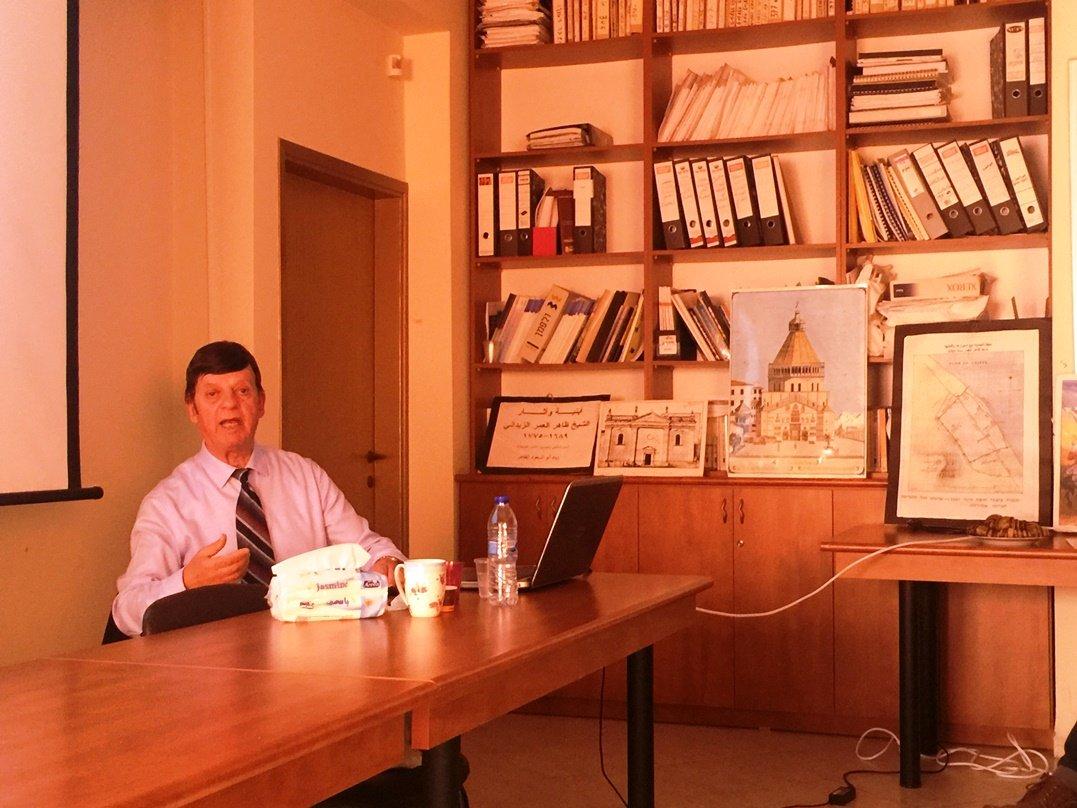 المركز العربي للتخطيط البديل يستضيف المهندس زياد ضاهر في محاضرة عن الإرث العمراني لظاهر العمر الزيداني