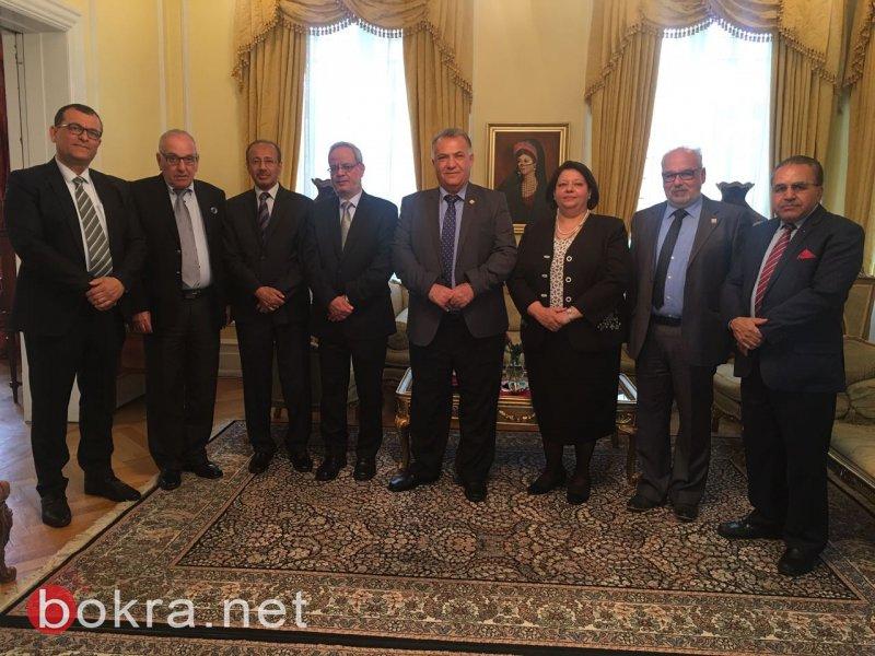 زيارة رئيس بلدية الناصرة الى كوبنهاجن تحظى باهتمام شديد