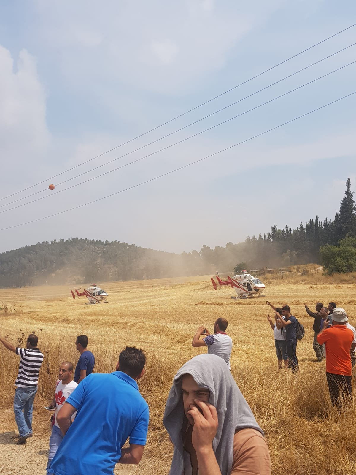 3 اصابات بحادث طرق بالقرب من ترقوميا