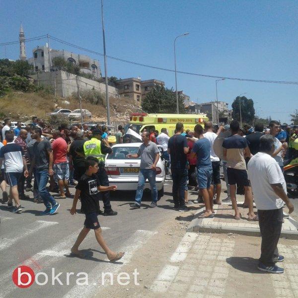 5 اصابات متوسطة في حادث طرق بين عرابة ودير حنا