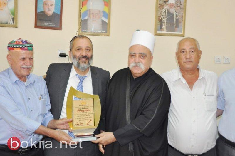 ابوسنان : وزير الداخلية درعي يهنىء بعيد الأضحى المبارك