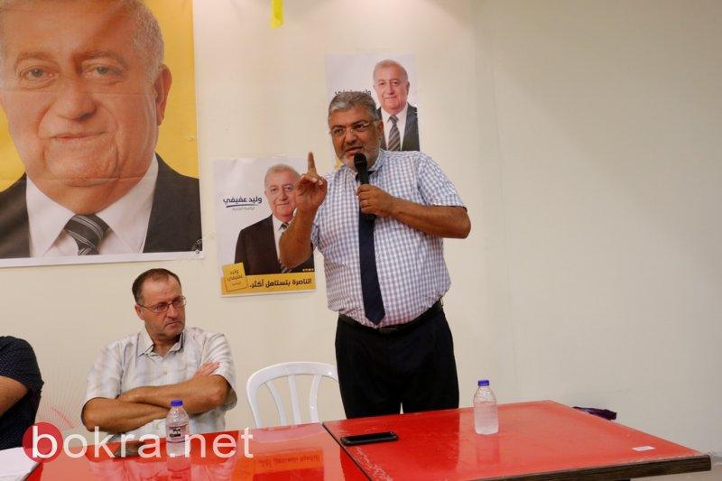 عفيفي خلال إفتتاح مقره: سنطرح خطة للقضاء على ظاهرة العنف والخاوة