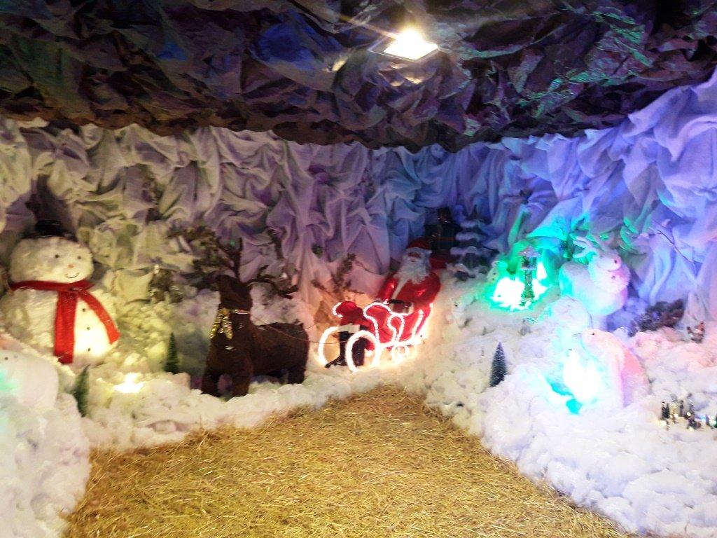 الناصرة: تحضير اكبر مغارة لعيد الميلاد في البلاد
