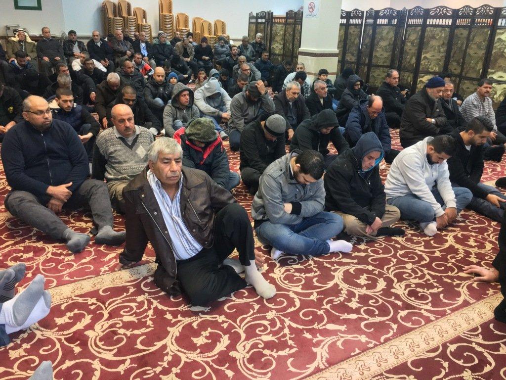 جامع عمر المختار يافة الناصرة يستقبل 2018 بشعائر الجمعة