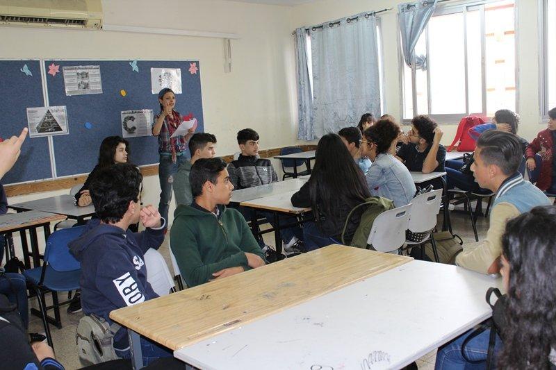 يوم اللغة الانجليزية لطبقة التواسع في الشاملة الف شفاعمرو