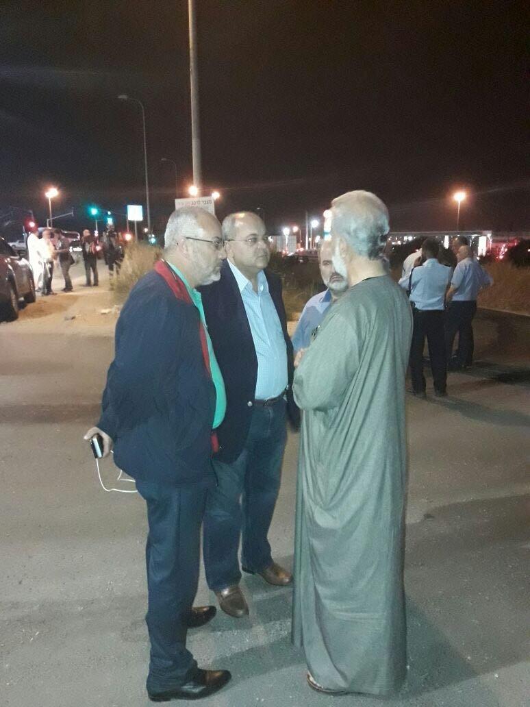 استشهاد شاب في كفر قاسم .. ومواجهات مع الشرطة!