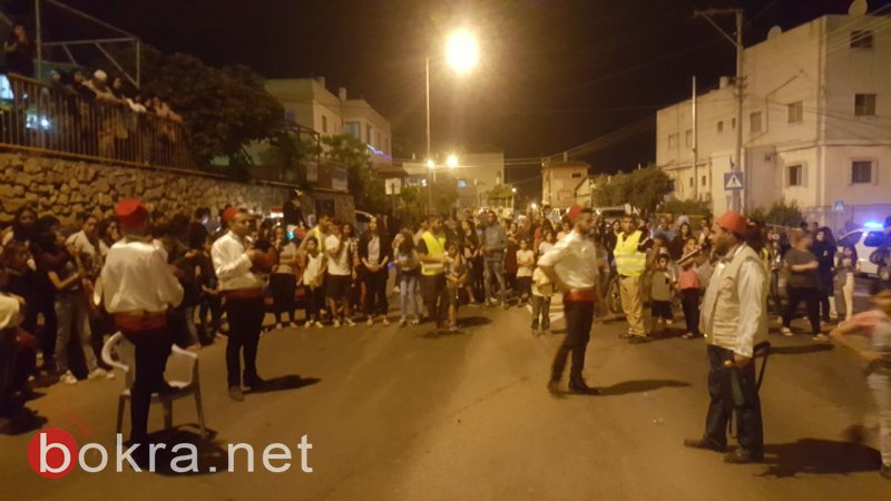مسيرتان في الشبلي وأم الغنم احتفالًا بشهر رمضان المبارك