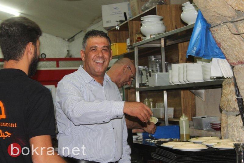 بنك لئومي فرع عرابة يقيم افطارا لمديري المدارس