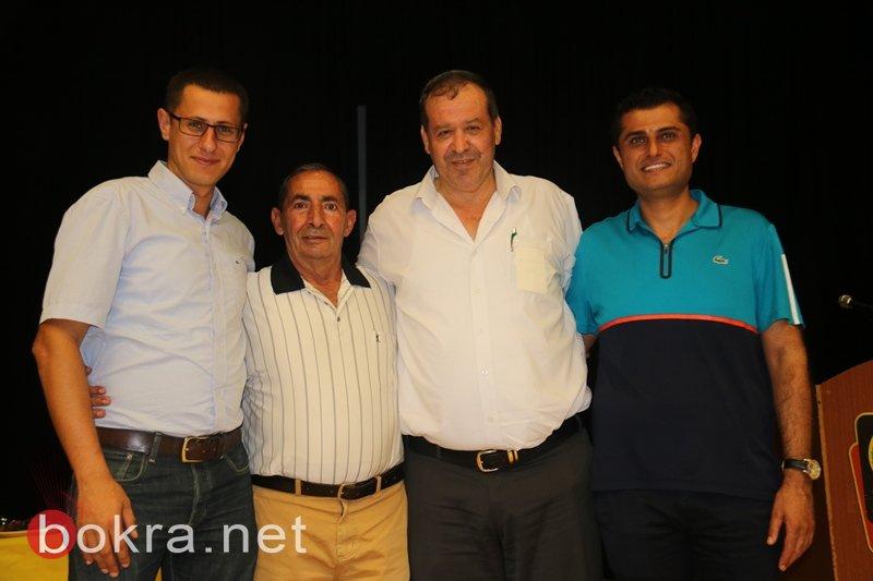 تكريم الروائي حسين ياسين بأمسية ثقافية بمركز محمود درويش في عرابة