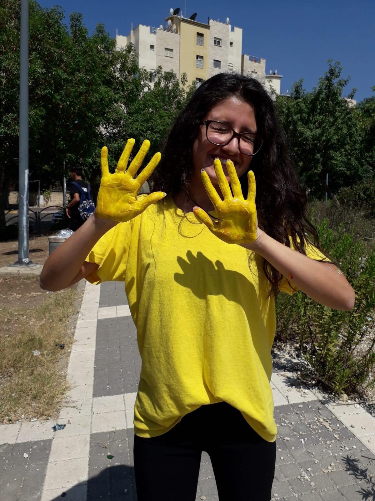 الناصرة: تخريج الفوج الثاني لمشروع لوّن بلدك بالحياة-مركز الطفولة