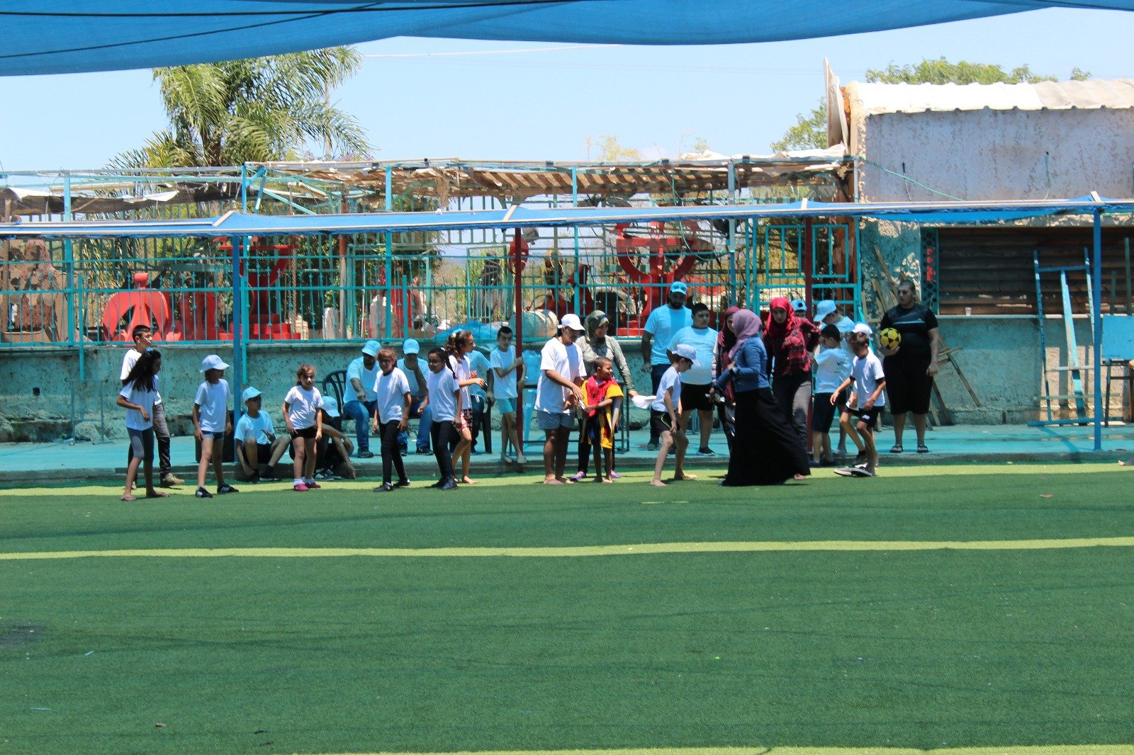 جمعية يدا بيد للمكفوفين تتألق باليوم الرياضي الثالث لذوي الإعاقة البصرية