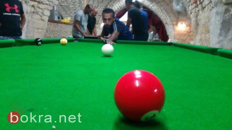لقاء بين نادي البلدة القديمة ومركز ابن عامر في دوري بينج بونج