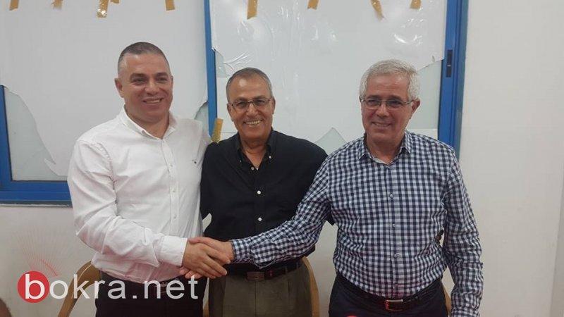 سخنين: الجبهة تختار الدكتور صفوت ابو ريا مرشحها للرئاسة بالإجماع