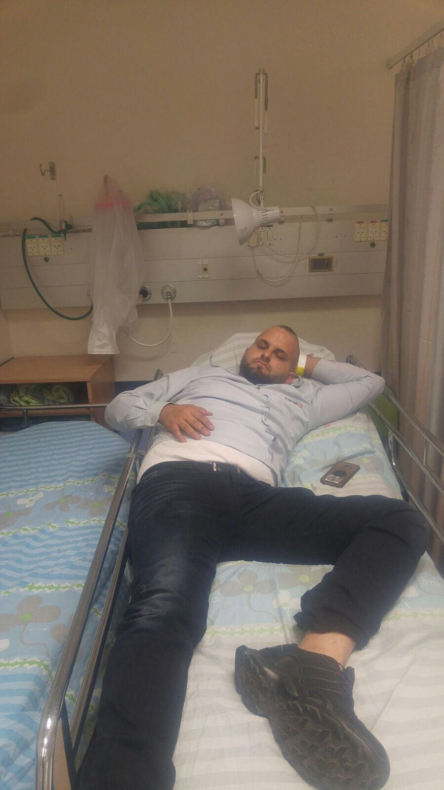 رجال أمن يعتدون على سائق عربي في النقب
