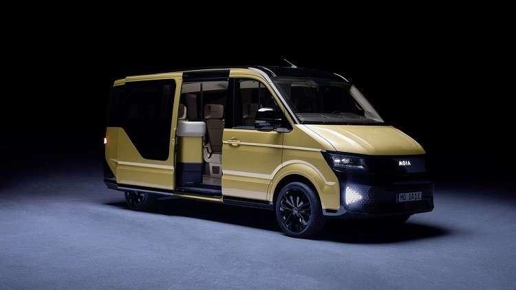 فولكس فاغن تكشف عن حافلة كهربائية مميزة