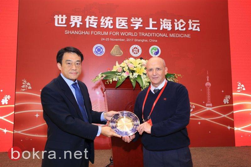 رئيس أكاديمية القاسمي، البروفيسور بشار سعد متحدث رئيسي في المؤتمر الدولي في جامعة شانغهاي – الصين