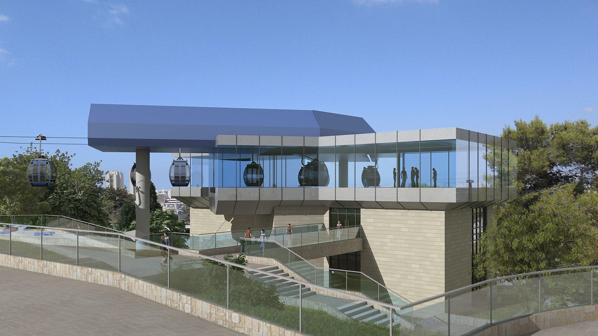 رخباليت هو الأسم الذي تم اختياره للقطار الهوائي (الرخبال)  من ليف همفراتس وحتى جامعة حيفا