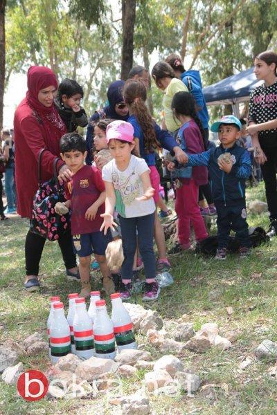 مشاركة المئات في مهرجان الأرض والعودة على ارض الرويس المهجرة