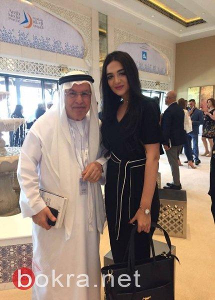 حسناء فلسطين ربى عياش تمثل فلسطين بمنتدى في دبي والإسكندرية