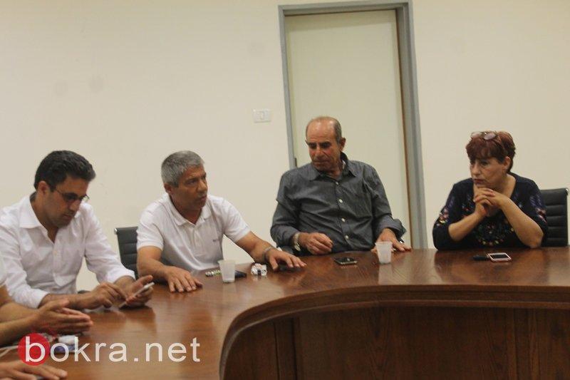 سخنين: اللجنة الشعبية تتبنى الاضراب العام وتتخذ اجراءات احتجاجية