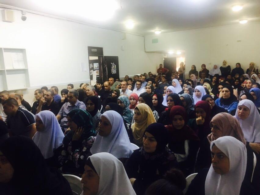 لقاء مع صفوف العواشر في الثانوية الشاملة في كفر قاسم