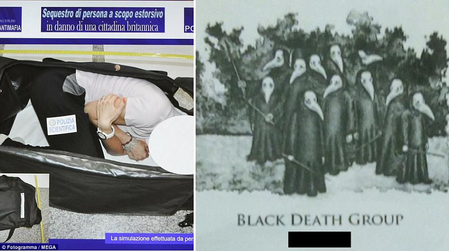 """عارضة أزياء خطفوها جماعة """"الموت الأسود"""" لبيعها """"جنسياً"""""""
