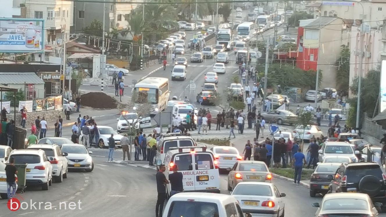 قوات كبيرة من الشرطة تفض شجار عائلي في الرينة