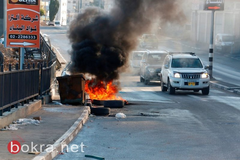 اضراب شامل يعم مدن الضفة تنديدا بالقرار الأميركي الجائر